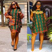 Ladies, Check Out These Simple And Classy Short Ankara Gown Styles For Your Summer Outings