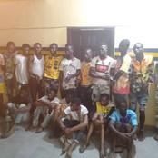 Lagos Police Arrest 17 Suspected Armed Robbers In Lekki, One Vigilante For Killing A Man