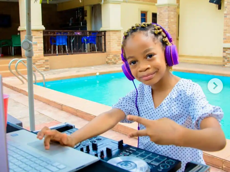 Meet Eze Chikamso, the youngest DJ in Nigeria who has over 50k Instagram followers. (photos)