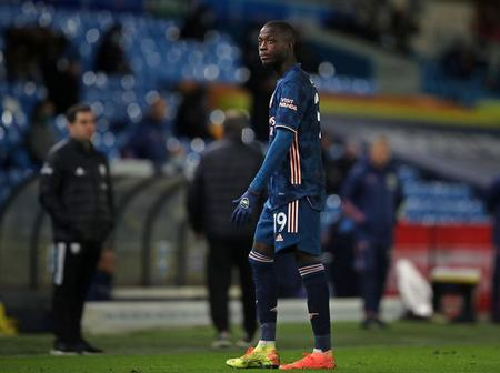This is what Nicolas Pepe said after being sent off the field during Arsenal FC vs Leeds United matc