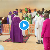 DP Ruto Attends A Church Service To Receive Blessings From Servants of God