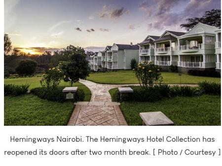 Hemingways Reopens Two of Its Hotels After Long Holiday Brought About by COVID-19 Pandemic