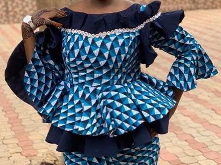A statement collection of latest Ankara skirt and blouse styles (Photos)