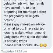 Man who mistakenly impregnated two ladies at the same time seeks advise
