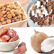 Health: Benefit Of Eating Coconut, Tiger Nut And Dates Daily Before Breakfast