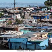Black people still find themselves in urban ghettoes called townships and squatter camps