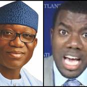 Reno Omokri Reacts To Gov Fayemi Statement On Insecurity, Read What He Said That Got People Talking