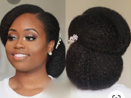 Your Natural Hair Can Still Look Attractive With These Different Natural Hair Styles (Pictures)