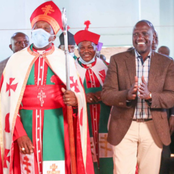 Ruto Feted In Gatanga Church As NCCK Bans Politicians From Addressing People In Church