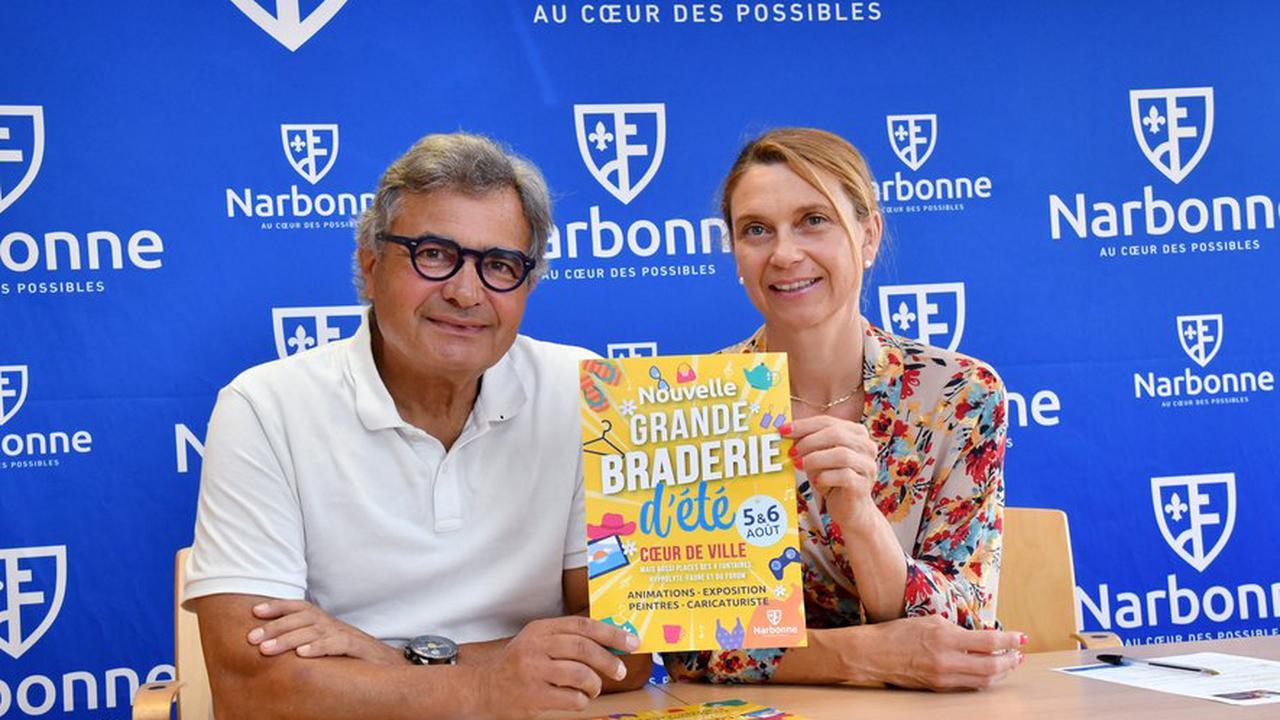 Narbonne : la grande braderie d'été étale son périmètre