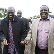Dp Ruto Disowns Raila's Talk on Alliance, Reveals The Main Reason Why He Met Oparanya