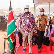 Raila Odinga Clashes With Kilifi Governor Amason Kingi In Public After Kingi Requested This