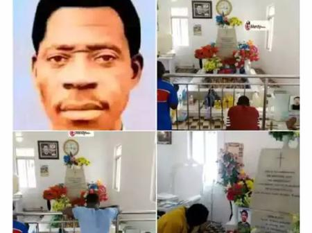 62 years after his death, here is what people usually do at Apostle Joseph Ayo Babalola's graveyard