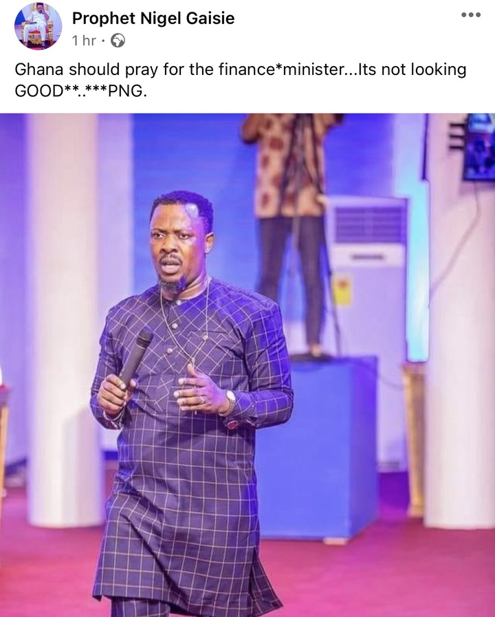 2bec0abb61ad63cc7a7406648696d3c1?quality=uhq&resize=720 - Ghana Should Pray For The Finance Minister, It's Not Looking Good - Prophet Nigel Gaisie Confirms