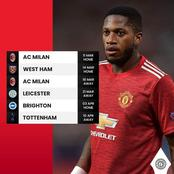 Next Six Fixtures For Manchester United After Thrashing Guardiola's City