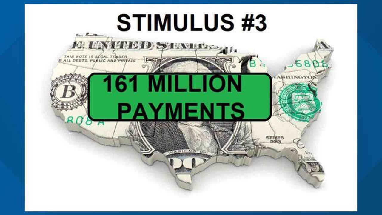 Another round of Stimulus #3 payments goes out. If you didn't get yours.....