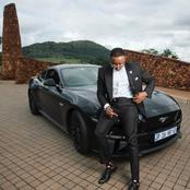 Sdumo Mtshali  bought a new car (see pictures)