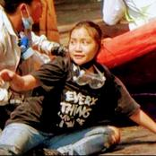 The Girl That Died During A Protest In Mandalay Yesterday, See What Was Written On Her Shirt