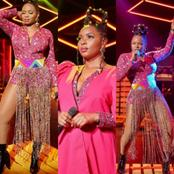 Yemi alade looks beautiful on stage: Check out photos of her performing on stage