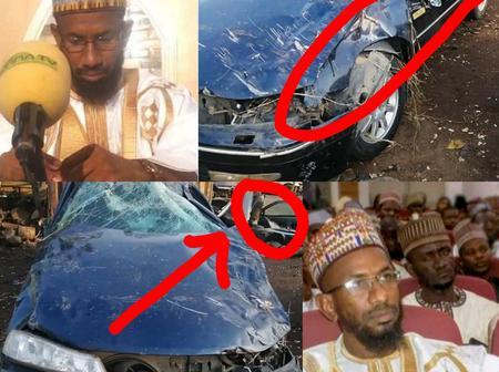 Popular Islamic Cleric, Sheikh Abubakar Usman Yola Was Involved In A Ghastly Car Accident (Photos)