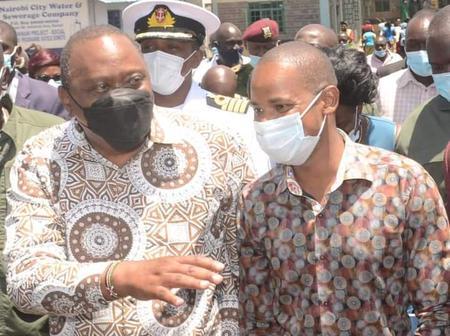 BBI's Revolution; Babu Owino Welcomes President Uhuru To His Embakasi East Constituency (PHOTOS)