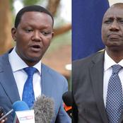 Alfred Mutua;I Will Only Work With Ruto if He Doesn't Have 'Sticky' Fingers