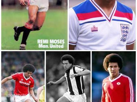 Meet Remi Mark Moses :The First Player Of Nigerian Origin To Play For Manchester United