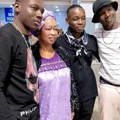 Après plusieurs mois d'absence, Sidiki Diabaté retrouve sa mère et ses frères à Abidjan