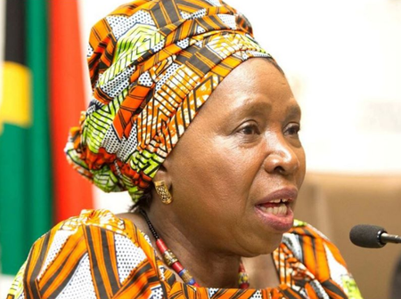 Dlamini Zuma Under Fire As Woman Exposes Her Links To The Only Brands Of Cigarettes In Black Market