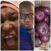 After A Hausa Man Showed The N70 Onions He Bought And Was Given Tomatoes Free, See What Aisha Said