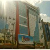 Millions lost after a fire razed Khetia's supermarket Eldoret branch (video)