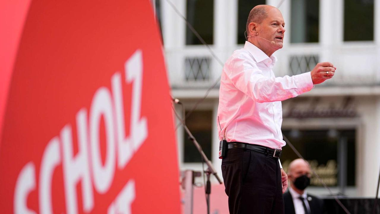 Scholz: Bürger wollen Veränderung