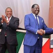 Raila, DP Ruto, Uhuru Holds Crucial Separate Meetings in Nairobi (Photos)
