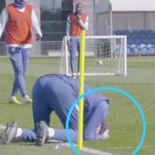 See What Zouma Did In Training Ahead Of PL Clash That Got Tuchel Laughing On The Ground