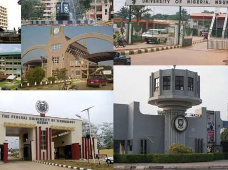 Federal Universities That Have Announced Resumption Dates