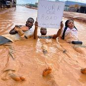Check Out What These Imo State Youths Did To Themselves All In The Name Of Protest (Photos)