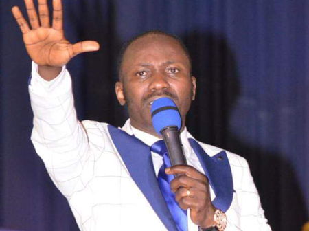 Apostle Suleiman Declares That This Month You will Not Cry, and You will Not know Sorrow
