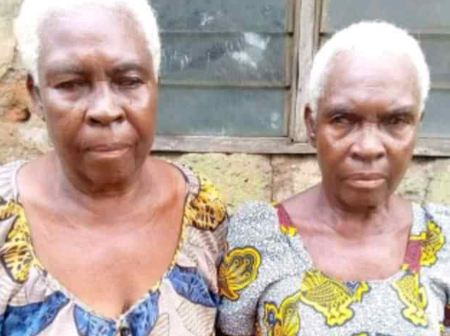 Check Out Photos Of Grandma Twins Posted On Facebook Whose Birthday Are Today