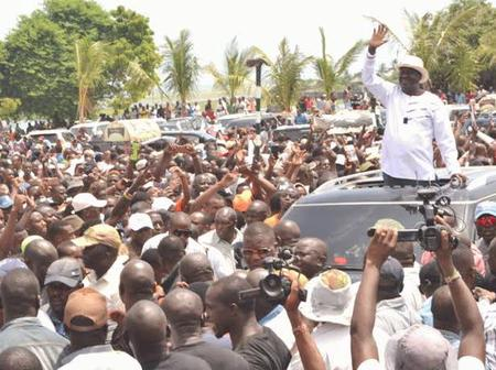 """""""We Are Ready For Your Presidency"""" Kenyans Tell Raila After His Bold Move [PHOTOS]"""
