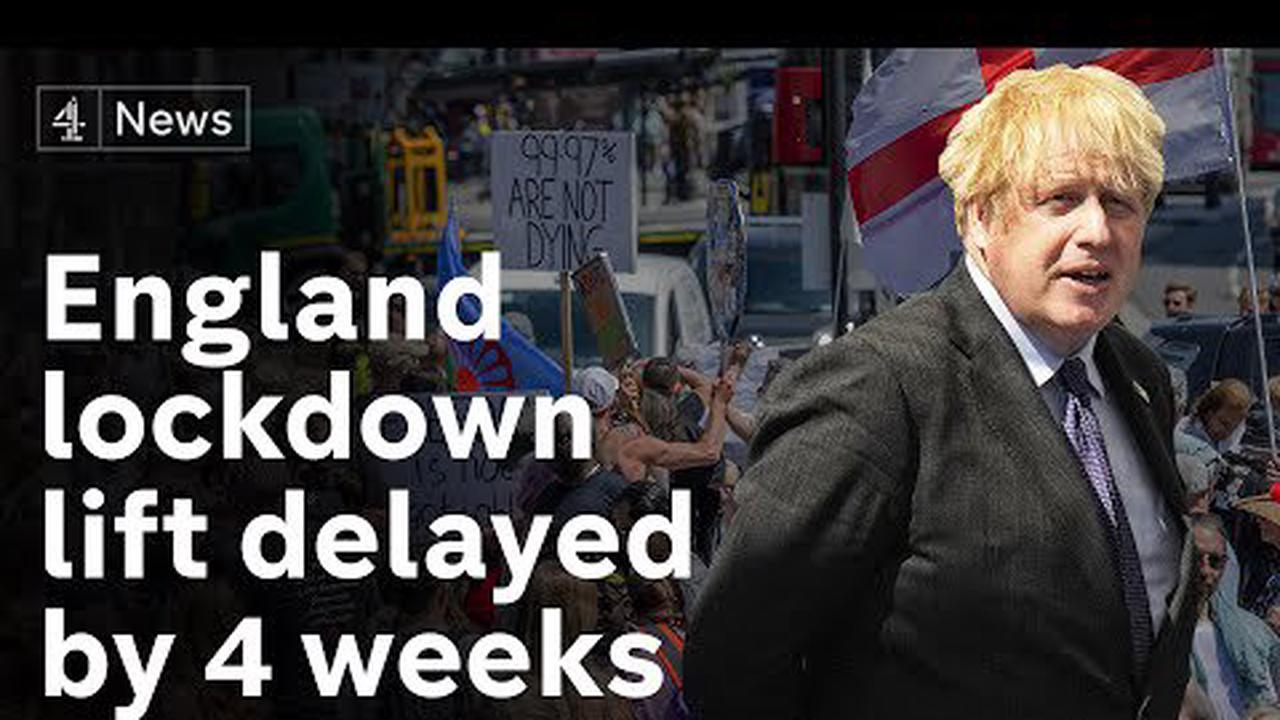 England lockdown exit delayed by four weeks as Covid cases rise