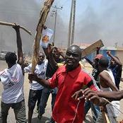 Heavy Crisis In Igangan As Criminal Herdsmen Return To The Community Destroying Farmlands.