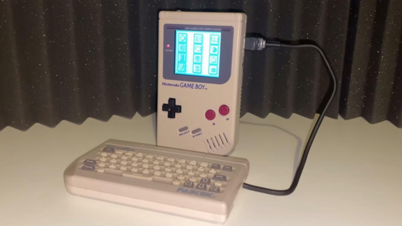 28-year-old 'WorkBoy' Game Boy add-on has surfaced