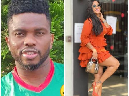 Joseph Yobo Shows Off His Beautiful Wife, Adaeze Yobo, Calls Her