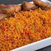 What happens to the body when you eat Jollof Rice