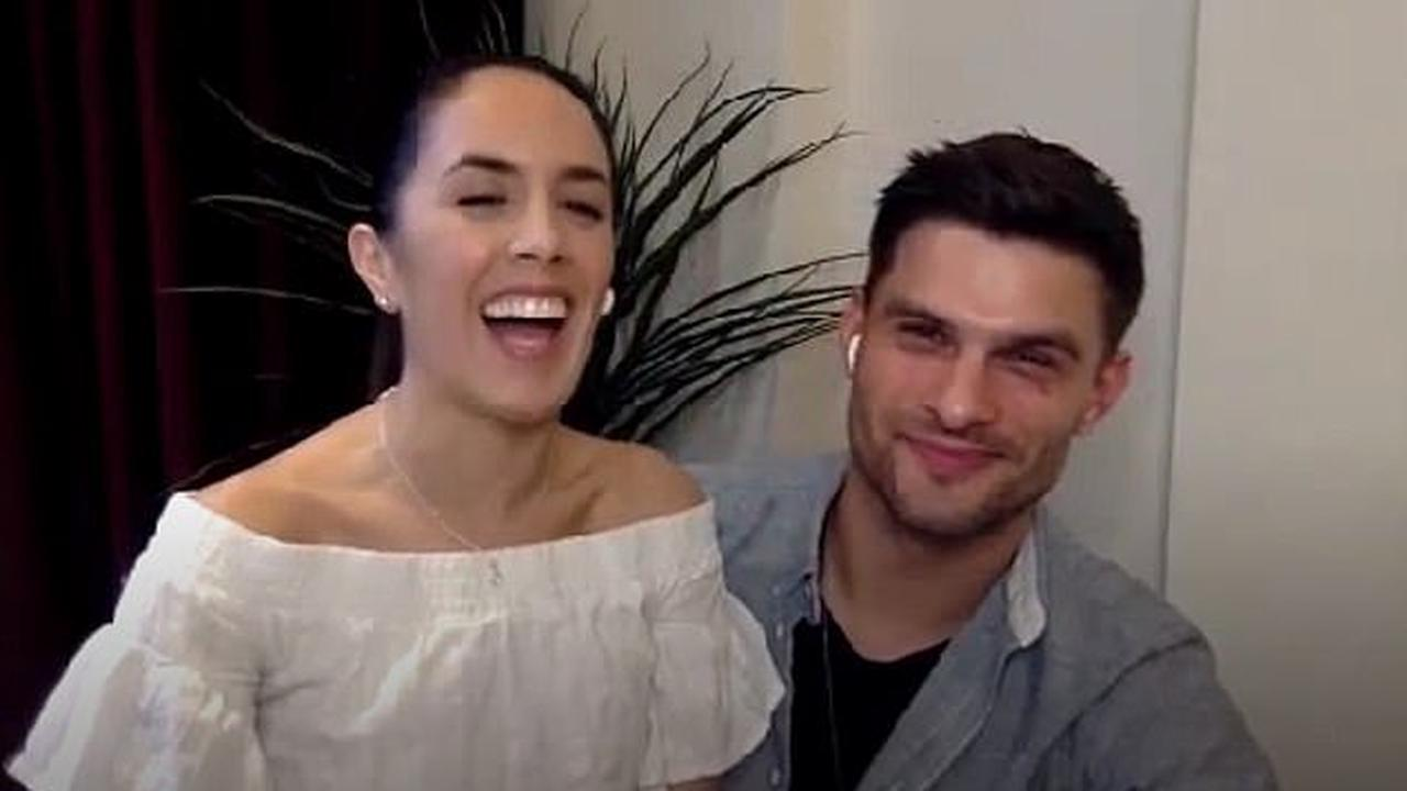 Strictly star Janette Manrara reveals she has 'fallen in love' with husband Aljaz Skorjanec 'all over again' during lockdown... but admits it's in 'a very different way'