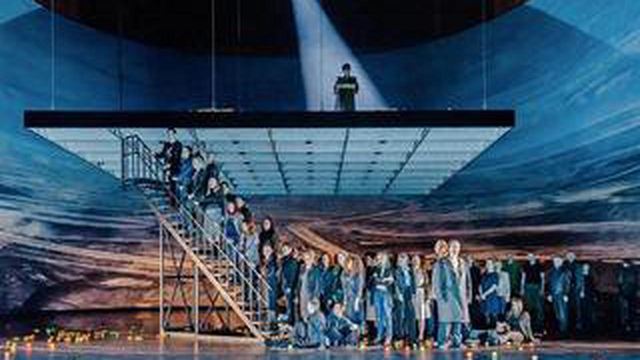 """So war die Premiere von Viktor Ullmanns """"Der Sturz des Antichrist"""" in der Oper Leipzig"""