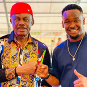 Reactions trails Zubby Michael's new photos with Governor Willie Obiano.