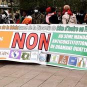 Politique/ France: les sympathisants de Guillaume Soro continuent de manifester à Paris