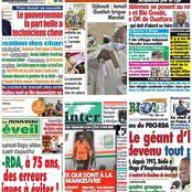 Titrologie / Dimanche 11 avril 2021 : Le chef de l'État a quitté Abidjan hier