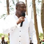 Rashid Echesa Reveals This About Matungu as By-election Nears